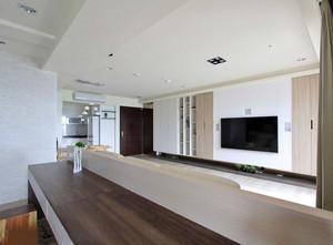 130平米白色基底舒适自在的北欧三居装修效果图