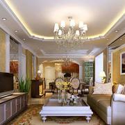 中式风格三室两厅