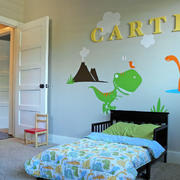 卧室墙贴设计