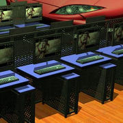 网吧键盘图片