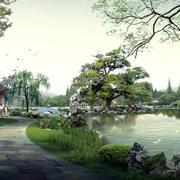 景色优美园林装修