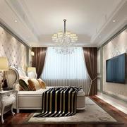 灰色调卧室图片