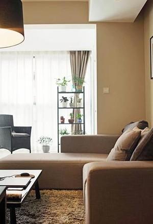 21万打造80平米现代简约港式白领公寓装修效果图