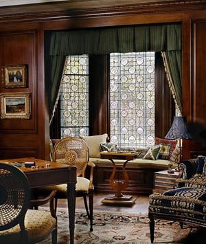 自由自在的享受:大户型飘窗窗帘设计效果图实例欣赏大全