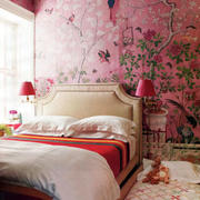 粉色调卧室装修