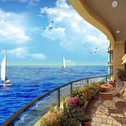 海景房美丽海景图片