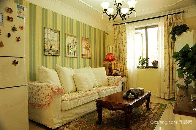 构造浪漫婚后生活:80平米轻快地中海风格婚房装修