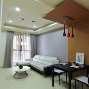 淡雅风格两室一厅