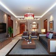 中式特色型客厅