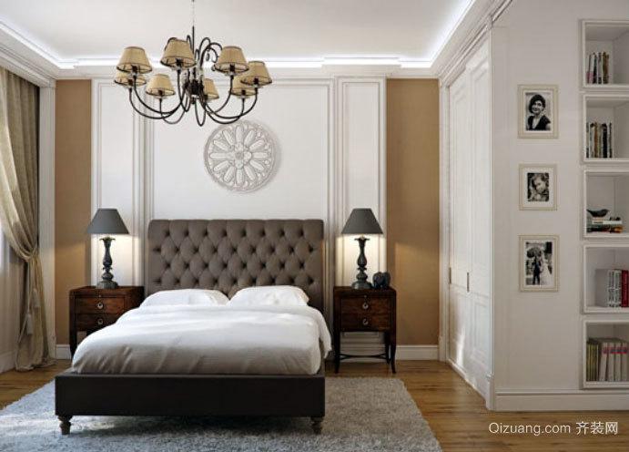 浪漫温馨:欧式别致奢华的卧室软包背景墙设计