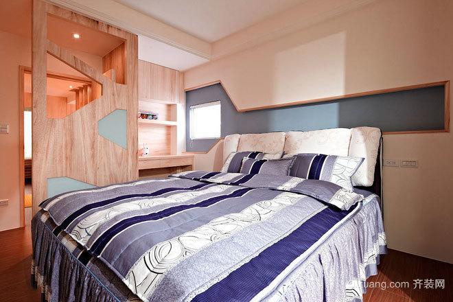 180平米高挑梧桐木色温馨浪漫的别墅装修效果图