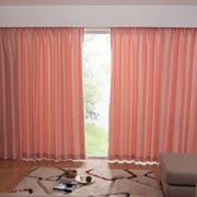 粉色调窗帘装修