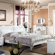 欧式风格双人床