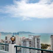 海景房阳台眺望图片