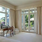 别墅窗帘效果图
