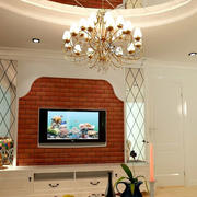 别墅电视背景墙
