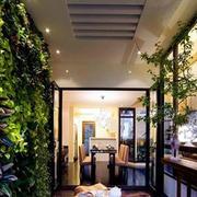 新鲜空气露台花园