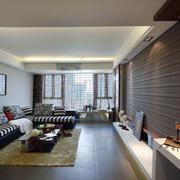自然风格客厅设计