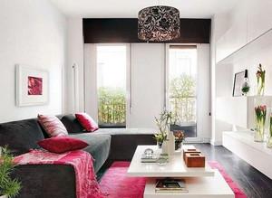 多彩时尚经济型小复式楼装修效果图