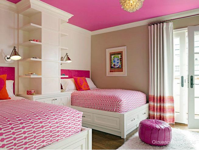 突破你的心理防线:精致简约小户型单人房双人床装修效果图鉴赏