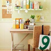 青春阳光型小书房装修