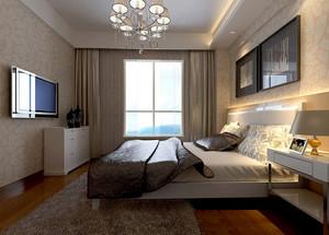 大户型完美卧室壁纸装修效果图欣赏实例大全