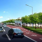 公交站远景设计