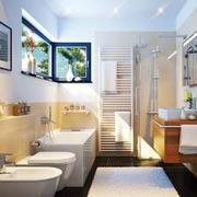 单身公寓卫浴设计