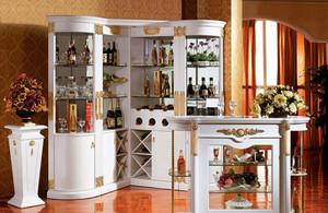浪漫型酒柜设计
