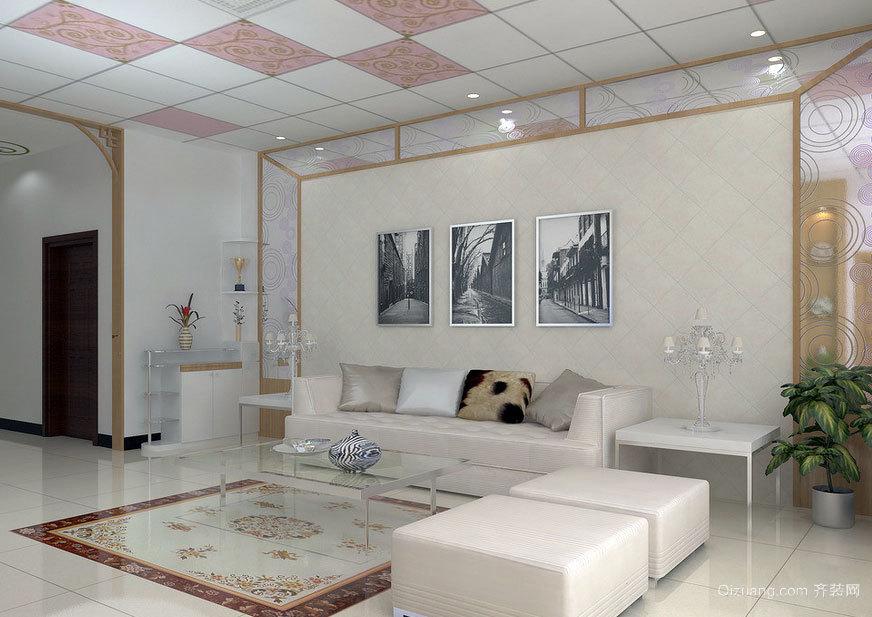 提升您的品味:大户型客厅欧式沙发背景墙装修效果图大全
