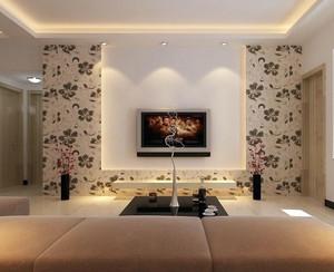 给于心灵的抚慰:大户型硅藻泥电视背景墙装修效果图大全