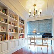 别墅精致书柜图片