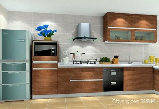 美味佳肴的发源地:大户型厨房装修效果图