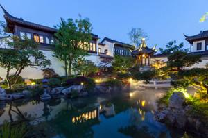 中华文化的瑰宝:苏州园林绿化设计效果图实例欣赏大全