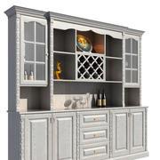 冷色调酒柜设计