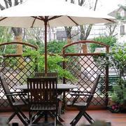大户型露台花园