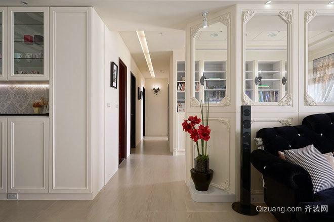 新古典情怀:130平米女主人所执着的新古典三居房屋设计