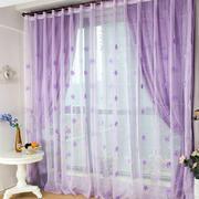 紫色调窗帘