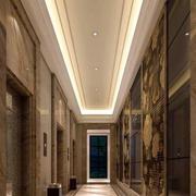 电梯走廊设计