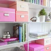 粉色调小书房装修