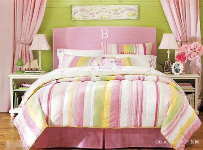 20平米俏皮欢快的小卧室装修效果图