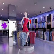 紫色怡情服装店