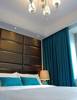 安静甜美:精致卧室软包背景墙装修效果图大全