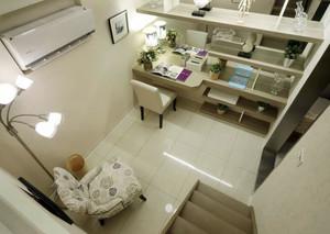 水乡小榭:90平米法式浪漫浅色柔情小别墅设计
