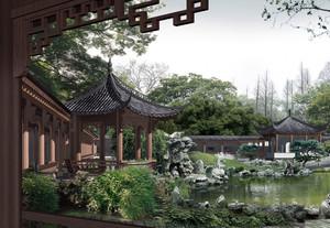 清新空气园林设计