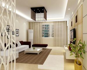 时尚家居设计:单身公寓客厅进门玄关装修效果图大全欣赏