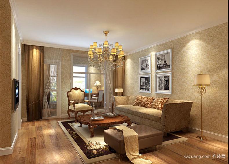 蒙娜丽莎瓷砖客厅装修效果图实例欣赏大全