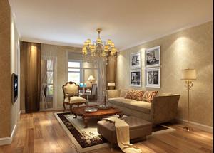 暖色调客厅装修
