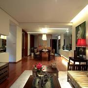 三室一厅灯光设计