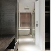 公寓卫生间侧面图